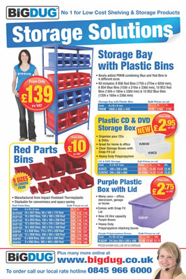 Big Dug Solutions Flyer Page 1